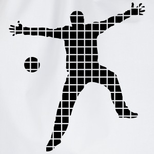 handball goalkeeper T-Shirts - Drawstring Bag