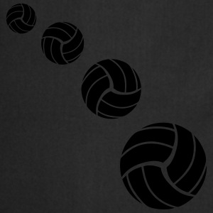 Volleyball Pattern Tee shirts - Tablier de cuisine