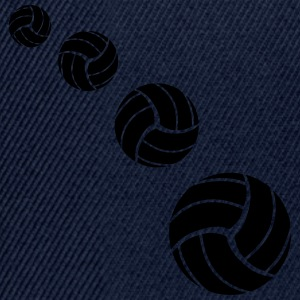 Volleyball Pattern Camisetas - Gorra Snapback
