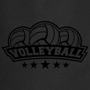 Volleyball Sport Logo Tee shirts - Tablier de cuisine