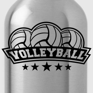Volleyball Sport Logo Camisetas - Cantimplora