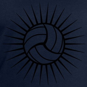 Volleyball Logo T-Shirts - Men's Sweatshirt by Stanley & Stella