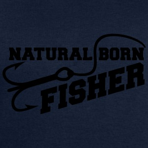 Natural Born Fisher T-shirts - Sweatshirt herr från Stanley & Stella