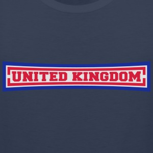 United Kingdom T-skjorter - Premium singlet for menn