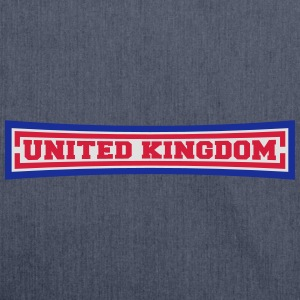 United Kingdom T-Shirts - Schultertasche aus Recycling-Material