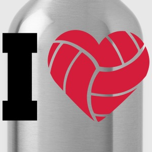 I Love Volleyball T-Shirts - Water Bottle