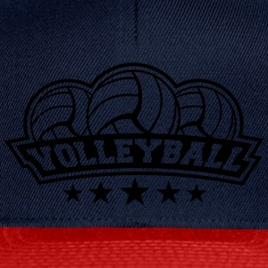 Volleyball Sport Logo T-shirts - Snapback Cap