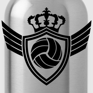 Volleyball Blazon T-Shirts - Water Bottle