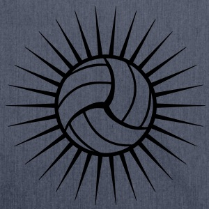 Volleyball Logo Magliette - Borsa in materiale riciclato