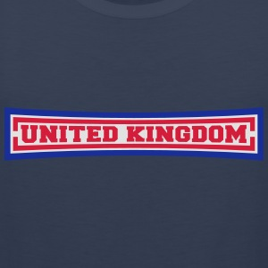United Kingdom T-shirts - Herre Premium tanktop