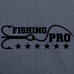 Fishing Pro T-Shirts - Shoulder Bag made from recycled material