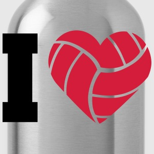 I Love Volleyball Camisetas - Cantimplora