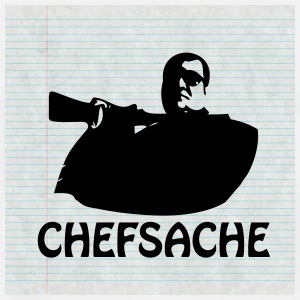 iPhone 5 Hard Cover - Chefsache - Männer Premium T-Shirt