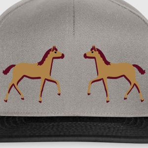 two foals Bags & backpacks - Snapback Cap