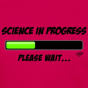 Science in progress T-Shirts - Frauen Premium Langarmshirt