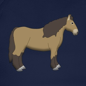 cold-blooded horse brown T-shirts - Basebollkeps