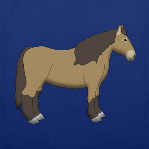 cold-blooded horse brown T-shirts - Tas van stof