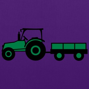 Tractor With Trailer Camisetas - Bolsa de tela