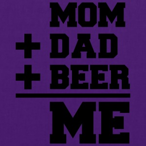 Mom Dad Beer Me Camisetas - Bolsa de tela