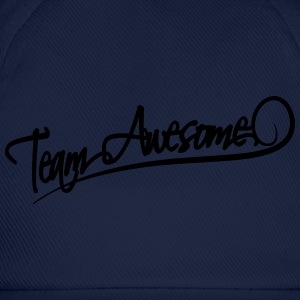 Team Awesome T-shirts - Baseballkasket