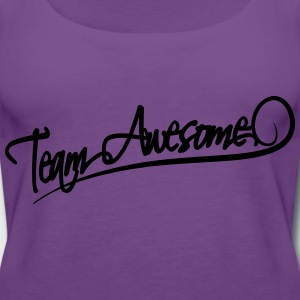 Team Awesome T-Shirts - Women's Premium Tank Top