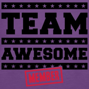 Team Awesome Member T-Shirts - Women's Premium Tank Top