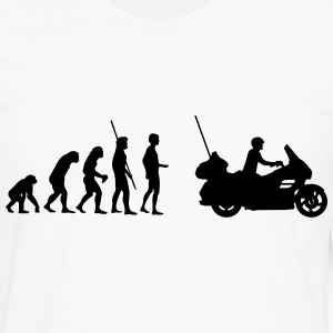 Evolution Goldwing moto  Tee shirts - T-shirt manches longues Premium Homme