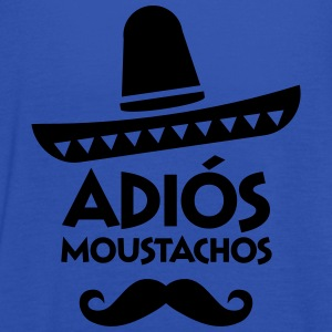 Adiós Moustachos T-Shirts - Women's Tank Top by Bella