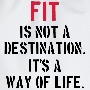 Fit Is Not a Destination Pullover & Hoodies - Turnbeutel