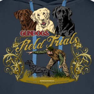 gundogs_field_trials T-Shirts - Men's Premium Hoodie