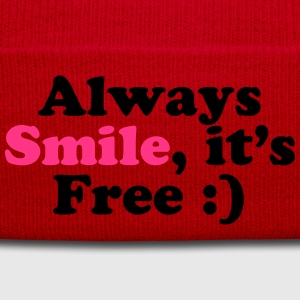 Always Smile Hoodies - Winter Hat