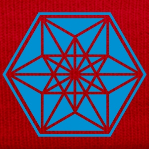 Cuboctahedron, sacred geometry,vector equilibrium T-Shirts - Winter Hat