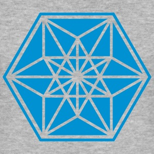 Cuboctahedron, sacred geometry,vector equilibrium Hoodies & Sweatshirts - Men's Slim Fit T-Shirt