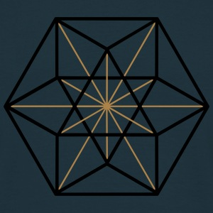 Cuboctahedron, vector equilibrium, Metatrons cube Pullover & Hoodies - Männer T-Shirt