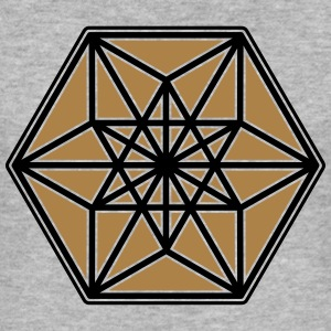 Cuboctahedron, structure of the universe, Fuller Sweaters - slim fit T-shirt