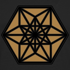 Cuboctahedron, structure of the universe, Fuller Hoodies & Sweatshirts - Men's Premium Longsleeve Shirt