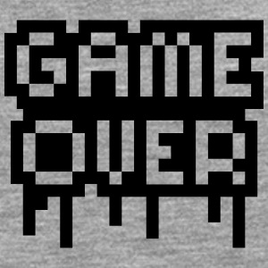Game Over Stamp T-shirts - Herre premium T-shirt med lange ærmer