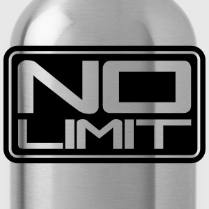 No Limit Shield T-Shirts - Trinkflasche