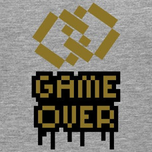 Game Over Marriage Rings T-shirts - Herre premium T-shirt med lange ærmer
