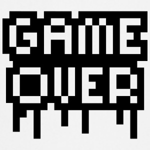 Game Over Stamp T-shirts - Keukenschort