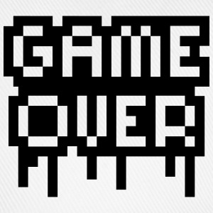 Game Over Stamp T-skjorter - Baseballcap