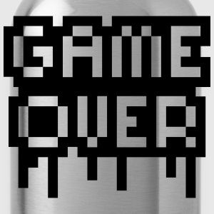 Game Over Stamp Magliette - Borraccia