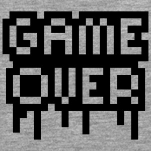 Game Over Stamp Camisetas - Camiseta de manga larga premium hombre