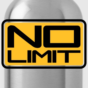 No Limit Shield T-Shirts - Water Bottle