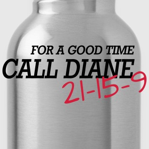 For a good time, call DIANE: Crossfit T-shirts - Vattenflaska