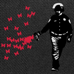Polizei - Streetart Pepper Spray Cop Butterfly Pullover & Hoodies - Snapback Cap