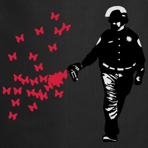 Polizei - Streetart Pepper Spray Cop Butterfly Pullover & Hoodies - Kochschürze