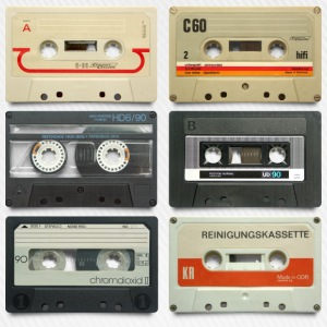 Vintage tapes: 6 tapes - Cappello con visiera