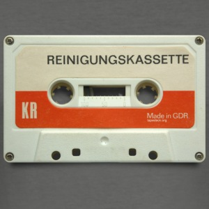 vintage tape: reinigungskassette - Men's Slim Fit T-Shirt