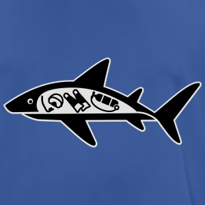 Shark ate scuba diver Hoodies & Sweatshirts - Men's Breathable T-Shirt